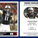 Gunner Kiel 2015 ACEO Sports Football Card - Cincinnati Bearcats - QB