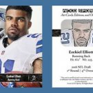 Ezekiel Elliott NEW! 2016 ACEO Sports Card RC Rookie Dallas Cowboys Ohio State