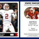 Joel Stave 2015 ACEO Sports Football Card Wisconsin Badgers - QB