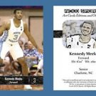 Kennedy Meeks NEW! 2016-17 ACEO Sports Basketball Card UNC Tar Heels