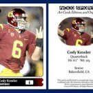 Cody Kessler  2015 ACEO Sports Football Card Pre Rookie RC Cleveland Browns USC