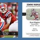 Ryan Higgins NEW! 2016 ACEO Sports Football Card - Louisiana Tech Bulldogs - QB