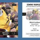 Mitch Leidner NEW! 2016 ACEO Sports Football Card - Minnesota Golden Gophers QB