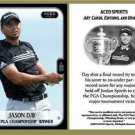 Jason Day 2015 PGA Championship Commemorative ACEO Sports Golf Card