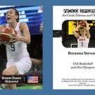 Breanna Stewart NEW! ACEO Sports Card 2016 Rio Olympics USA Basketball UCONN
