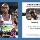 Mo Farah NEW! ACEO Sports Card 2016 Rio Olympics Great Britain Team GB Track