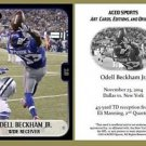 Odell Beckham Jr. 2014 Commemorative Catch ACEO RC Card New York Giants