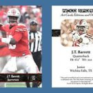 J.T. JT Barrett NEW! 2016 ACEO Sports Football Card - Ohio State Buckeyes - QB