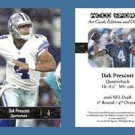 Dak Prescott NEW! 2016 ACEO Sports Football Card Rookie RC Dallas Cowboys