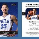 Ben Simmons NEW! 2016 ACEO Sports Card RC Rookie Philadelphia 76ers LSU