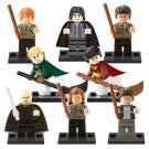 Lego Compatible Harry Potter custom minifigures set, Hermione, Ron, Draco, Snape, Lord Voldemort