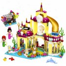 Lego Compatible Mermaid Princess Underwater Palace Castle Doll House