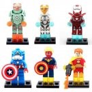 Lego Compatible War Hero Iron Man Captain America Hyperion Minifigure