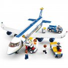 City Town Airport Passenger Cargo Plane Aircraft Lego Compatible Toy