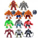 Lego Compatible Toy Decool Figure Hulk Venom Rhino Goblin Juggernaut