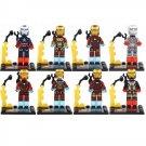 SY185 Super Hero Avenger Ironman Mark Tony Stark Minifigure Compatible Lego Toy