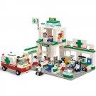 Sluban B5600 City Rescue Emergency Hospital Clinic Ambulance Lego Compatible Toy
