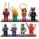 SY178 Super Hero Marvel Cyclop Flash Deadpool Cat Minifigure Compatible Lego Toy