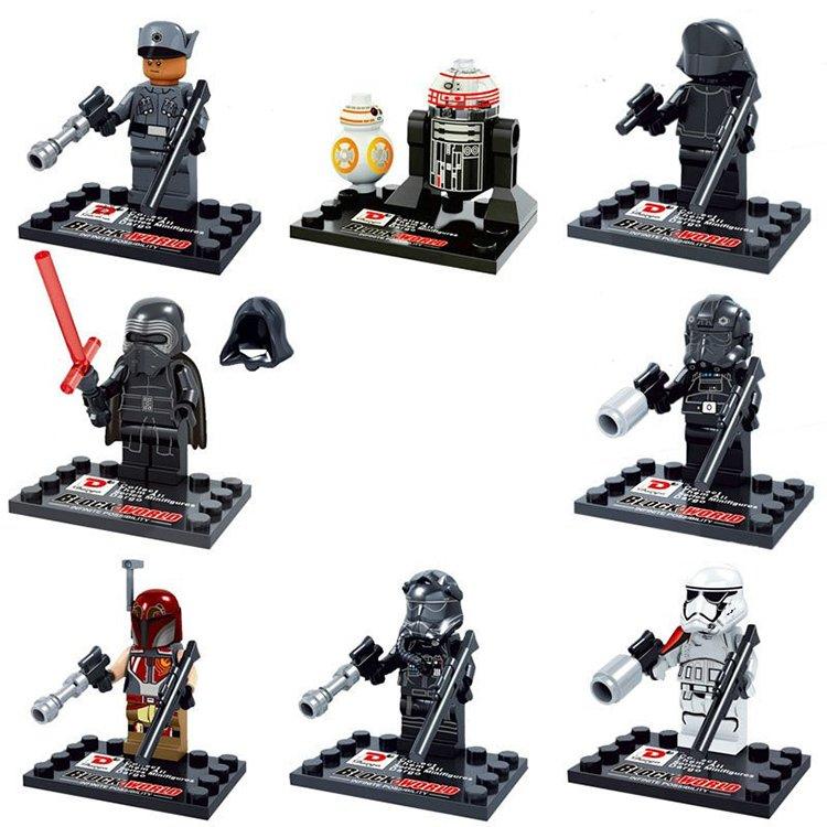 Star Wars Jedi Kylo Ren Imperial Storm Trooper Minifigure Lego Compatible Toy