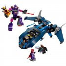 X-Men Wolverine Escape Sentinel Blackbird Jet Cyclops Storm Lego Movie Compatible