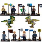 SY280 Jurassic Park World Studio Raptor Dinosaur Minifigure Compatible Lego Toy