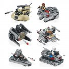 Lego Star Wars Micorfighters Compatible Mini Millennium Falcon Interceptor Destroyer Tank