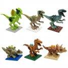 SL8916 Super Hero Jurassic Park Dinosaur Raptor Minifigure Compatible Lego Toy