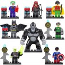 Super Hero Avenger Batman Joker Lantern Grood Minifigures Lego Compatible Toy