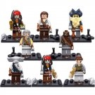 Pirates Caribbean Jack Sparrow Will Turner Pearl Minifigures Lego Compatible Toy