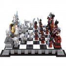 International Western Chess Checker Board Kingdom Castle Soldier Lego Compatible