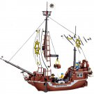 Jie Star Pirates Caribbean Ship Vessel Treasure Black Pearl Lego Compatible Toy