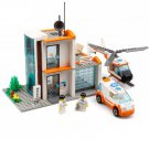 Kazi Rescue Emergency Hospital Helicopter Ambulance Doctor Lego Compatible Toy