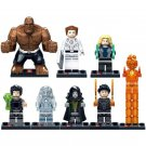 Fantastic Four Mister Thing Human Torch Minifigure for Lego Bricks