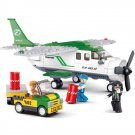 Airport Passenger Cargo Mail Delivery Aircraft Plane Lego Compatible Toy