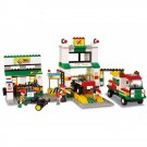 City Car Vehicle Repair Garage Service Gas Station Lego Compatible Toy