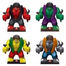 Super Hero Figure Avenger Marvel Hulk Morph Minifigure Compatible Lego Toy SY255