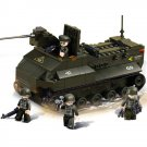 Military Army Battle Transport Tank Vehicle Lego Compatible Toy