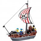 Caribbean Pirate Captain Sea Vessel Ship Cannon War Lego Compatible Toy