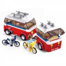 Recreational Vehicle RV Home Trailer Park Wagon Van Lego Compatible Toy