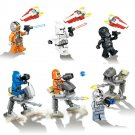 Star Wars Force Awakens Clone Stormtrooper AT-DP Minifigures Lego Compatible Toy
