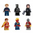 Marvel Hero Captain America Konami Winter Soldier Minifigure Lego Compatible Toy