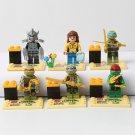 Ninja Turtle Comic Minifigure Shredder April Leonardo Lego Compatible Toy