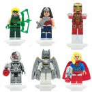 Super Hero Batman Ironman Wonder Woman DC Lantern Minifigure Lego Compatible Toy