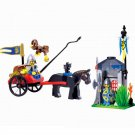 Knight Carriage Chariot Army War Medieval Castle Fort Lego Compatible Toy