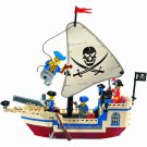 Pirates Caribbean Ship Treasure Boat Battle Vessel Lego Compatible Toy