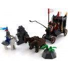 Knight Carriage Chariot Prison Car SoldiercMedieval Castle Lego Compatible Toy