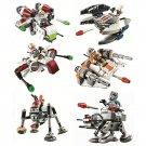 Star Wars Jedi Gunship Spider Droid Spaceship Minifigure Lego Compatible Toy