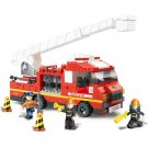 City Rescue Fire Engine Fighter Truck Department Lego Compatible Toy