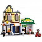City Town Hotel Coffee Shop Cafe Building House Minifigure Lego Compatible Toy