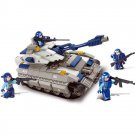 Army Galaxy Sluban Military Space Battle War Tank Soldier Lego Compatible Toy